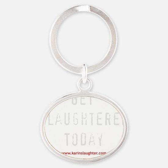 todaydark Oval Keychain
