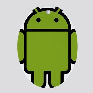 Android-Stroked-Black-New Oval Ornament