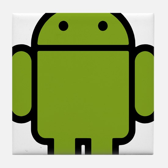 Android-Stroked-Black-New Tile Coaster
