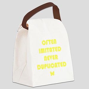 MCnoimitation Canvas Lunch Bag