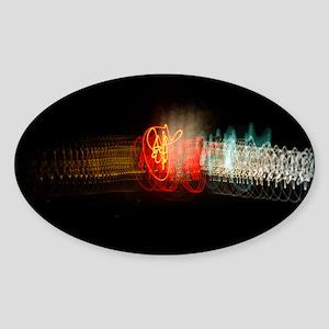 Super Collider Sticker (Oval)