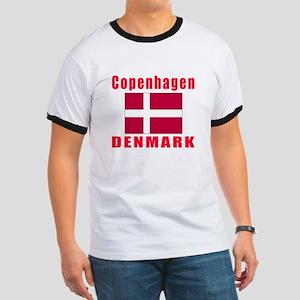 Copenhagen Denmark Designs Ringer T
