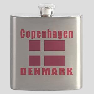 Copenhagen Denmark Designs Flask