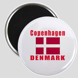 Copenhagen Denmark Designs Magnet