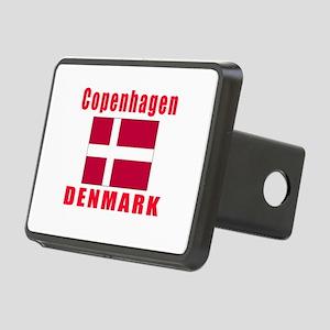 Copenhagen Denmark Designs Rectangular Hitch Cover