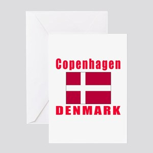 Copenhagen Denmark Designs Greeting Card