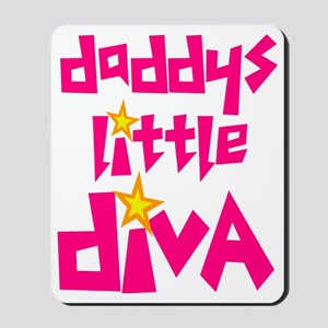 2-daddys_little_diva Mousepad
