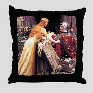 God Speed by Blair Leighton Throw Pillow