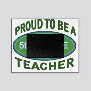 proud 5th. grade green Picture Frame