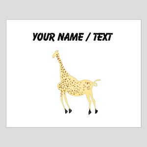 Custom Rock Art Giraffe Posters
