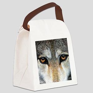Wolf Eyes  1000 Canvas Lunch Bag