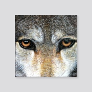 "Wolf Eyes  1000 Square Sticker 3"" x 3"""