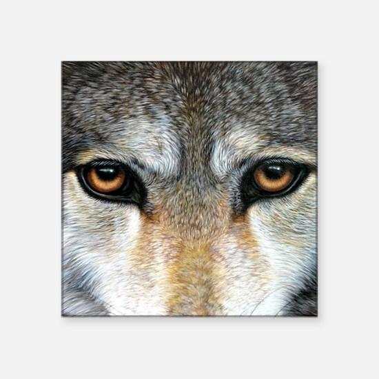 "Wolf Eyes  1000 Square Sticker 3"" x 3"""