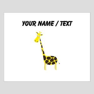 Custom Cartoon Giraffe Posters