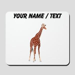 Custom Giraffe Mousepad