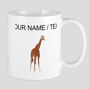 Custom Giraffe Mugs