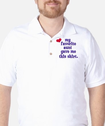favorite-aunt Golf Shirt