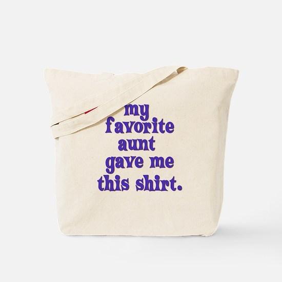 favorite-aunt Tote Bag