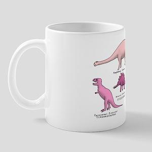 Pink Dinosaurs Mug
