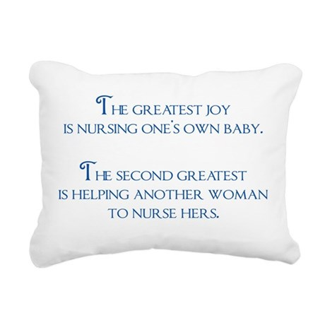 2-joy Rectangular Canvas Pillow