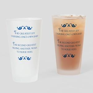 2-joy Drinking Glass