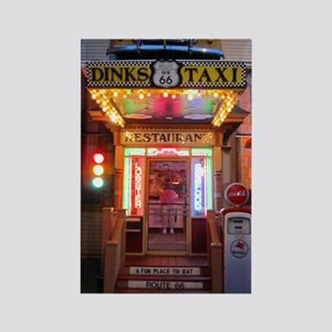 dinks taxi 1 Rectangle Magnet