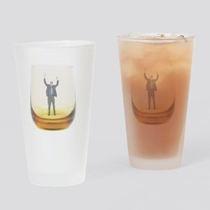 man-in-glass Drinking Glass