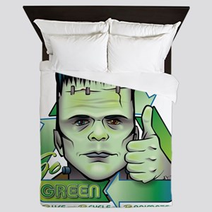 GO GREEN Queen Duvet
