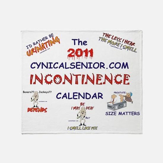 CALENDAR_inc-11 Throw Blanket