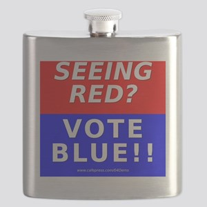 Seeing Red Flask