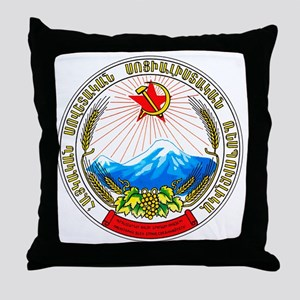 ArmeniaCoatofArms Throw Pillow
