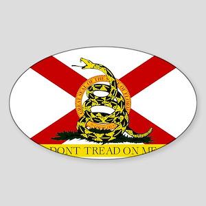 Florida-Gadsden Sticker (Oval)
