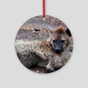 Hyena Ornament (Round)