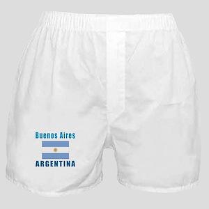 Buenos Aires Argentina Designs Boxer Shorts