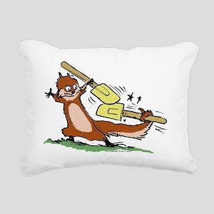 hammy-spatula copy Rectangular Canvas Pillow