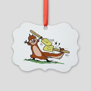 hammy-spatula copy Picture Ornament