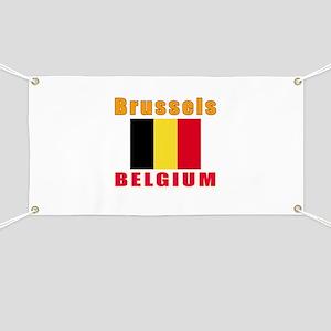 Brussels Belgium Designs Banner