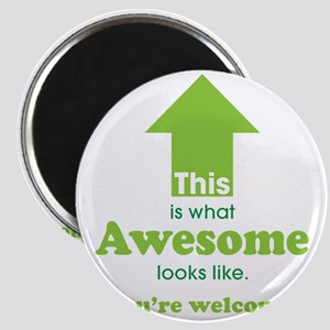 Awesome_lime Magnet