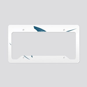 sailfish coming License Plate Holder
