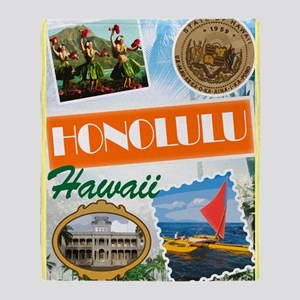 hawaii Throw Blanket