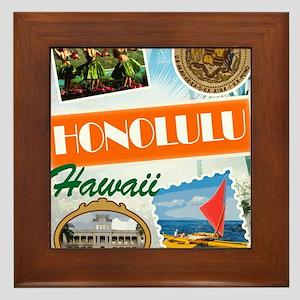 hawaii Framed Tile