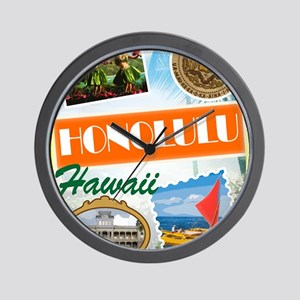 hawaii Wall Clock