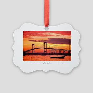 Newport-Bridge Picture Ornament