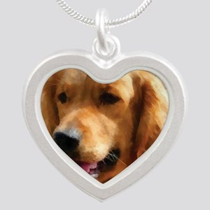 goldens Silver Heart Necklace
