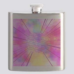 happy colors pink Flask