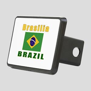 Brasilia Brazil Designs Rectangular Hitch Cover