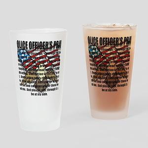 POPRAYERflag2 Drinking Glass