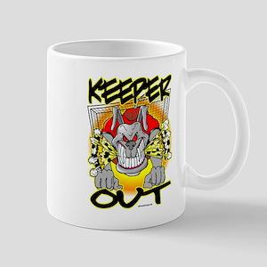KEEPer OUT Bulldog Mug