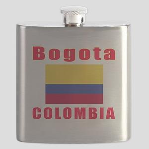 Bogota Colombia Designs Flask