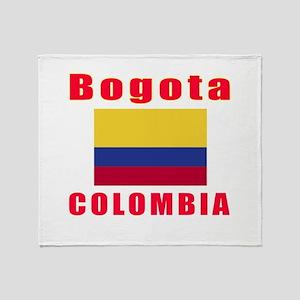 Bogota Colombia Designs Throw Blanket